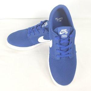 Nike SB Portmore Ultralight Sneaker, Size 6Y, Blue